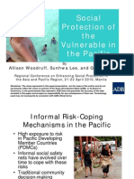 Social Protection of the Vulnerable in the Pacific