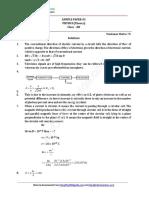 2016 Sample Paper 12 Physics 03 Ans