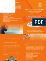 Management Consulting and Mobile Phone Application Development Course Brochure