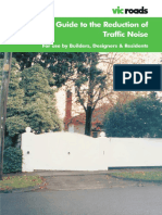 A Guide to Reduction of Traffic Noise 2003