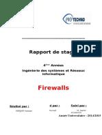 Rapport de Stage (Parefeu)