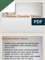 Herpes Zooster Oticus