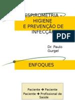 ESPIROMETRIA - HIGIENE E PREVENÇÃO DE INFECÇÃO