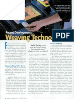 Recent Developments in Weaving Technology