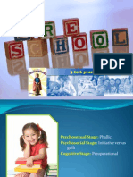 Growth & Development - PRESCHOOL