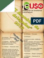 Ix Asamblea Feuso Extremadura