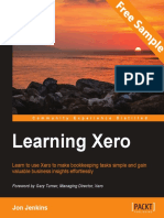Learning Xero - Sample Chapter