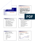 Chapter 2A- Capacity Planning