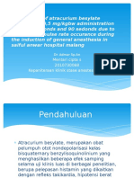 Comparison of Atracurium Besylate Intravenous 0,5 Mg