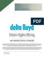 Delta Lloyd Presentation