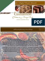 Cinnamon Recipe Book