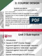 BBI3211_Unit 3 Course Design 15 Nov 2009