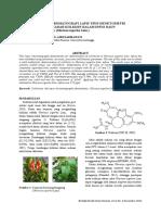 1. Validasi Metode Kromatografi Lapis Tipis-Densitometri