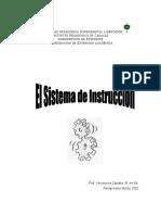 El Sistema de Instrucción. Zabatta. 2002 (1)