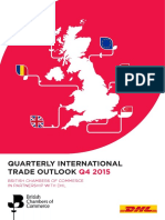 Quarterly International Trade Outlook (QITO) for Q4 2015