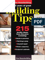 215 Great Building Tips