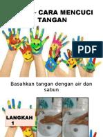 Cara – Cara Mencuci Tangan