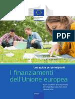 I finanziamenti dell'unione europea
