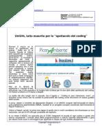 """Università di Urbino, tutto esaurito per lo spettacolo del """"coding"""" - Il Mascalzone.it, 1 marzo 2016"""