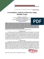 1409339695 Performance Analysis of Inverter Using Domino Logic