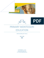 Primary Montessori Education