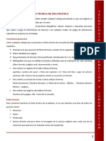 Instrucciones - Como Realizar La Ficha de Una Película