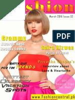 Fashion Central International Magazine March Issue 2016