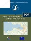 Water and Waste Water Treatment Systems of Vistino Village
