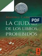 """""""La ciudad de los libros prohibidos"""", Maribel Carvajal (Kailas Editorial)"""
