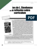 APORTES DE STENHOUSE