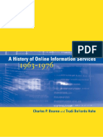 A History of Online Information Services, 1963-1976 -The MIT Press (2003)