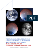 The Parallel Organizational Context Potential of the Eye ball and the Earth ball
