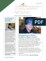 Aboriginal Market Monthly Newsletter - February 2016