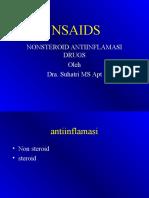 Obat Antiinflamasi Non Steroid