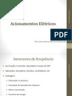 Acionamentos Eletricos-Inversor de frequência