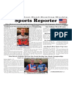 March 2 - 8, 2016  Sports Reporter