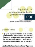 El Principio de Proporcionalidad Pedro Grandez