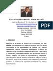 Cv Miguel Jorge Ricardo Rosado German.