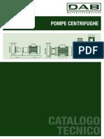 06 60169455 Pompe Centrifughe Catalogo Tecnico Ita
