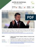 Boletín de noticias KLR 02MAR2016