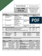 call sheets 02 26 16