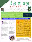 Gateway Newsletter March 2016