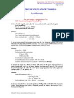DataComm Networking Solved