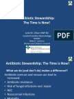Antibiotic Stewardship PQCNC New Initiative