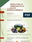 Propuesta Para La Sostenibilidad - Barrancabermeja 2016-02-28