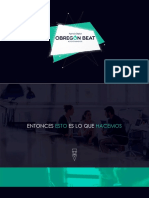 Portafolio Obregon Beat 2016