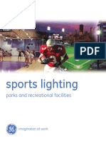 GE Sports Lighting System Selection