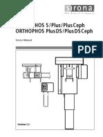 sirona orthophos plus dental x ray service manual pdf vacuum rh scribd com Maintenance Manual Parts Manual