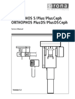 Sirona Orthophos Plus Dental X-Ray - Service manual.pdf