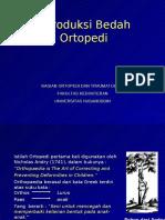 introduksi bedah ortopedi